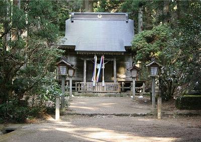 日本初の産金地であることを導いた黄金山神社