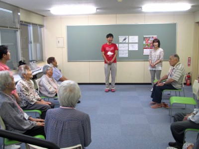 黒木先生による講話によって教室がスタート