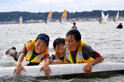 「海って楽しいね!」東京湾海洋体験アカデミー2016より