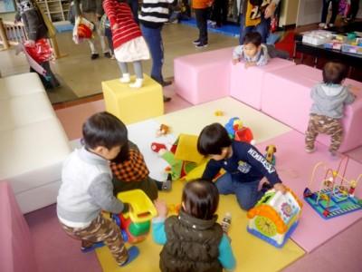 海洋センターが子どもや保護者の交流の場となっています