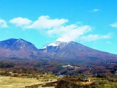 雄大な景色が広がる浅間山周辺。群馬県が誇る日本屈指の火山です