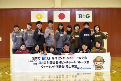 講師役を引き受けてくれた熊本大学陸上部の皆さん! 大変お世話になりました