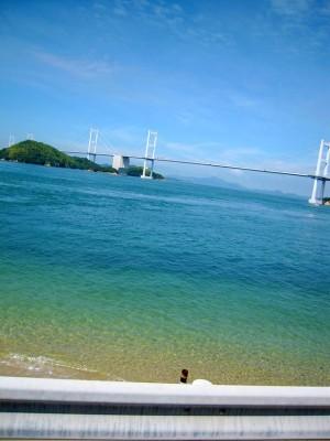 瀬戸内の穏やかでキレイな海。 今治市大三島、松山市中島、小豆島、弓削島などにセンター・クラブがあります