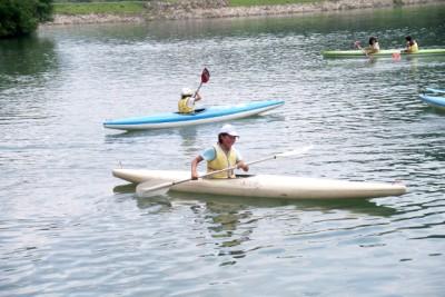 カヌーやボートの試乗
