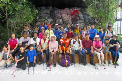 上毛高原駅、憩いのスペース「tanigawa hanare」(タニガワ ハナレ)で