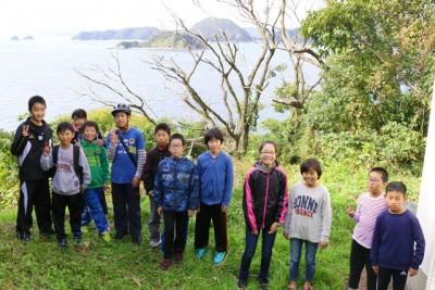 灯台展望台からの景色は、瀬戸内海を一望でき、遠くは広島県や山口県まで見渡せる