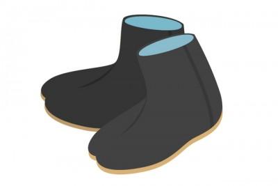 物語のキーワードとなる「足袋」