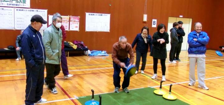 参加者最高齢87歳の田中富雄さん