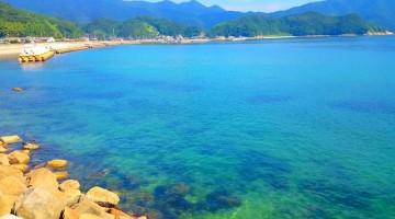「瀬戸内のハワイ」と呼ばれている周防大島の海はこんなにキレイなんです♪