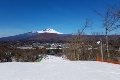 今回は雪が少なめでしたが、景色はサイコーです。