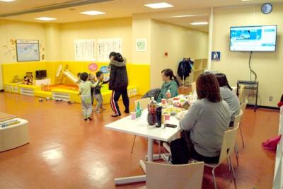 幼稚園がない積丹町では、積丹町B&G海洋センターにキッズスペースを設置