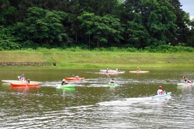 カヌー体験の様子