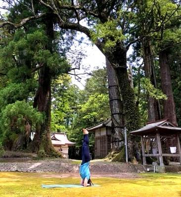 写真下は、井岡由香講師