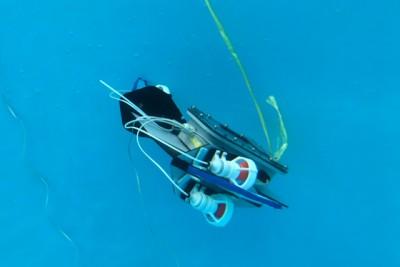 水中ロボットの写真
