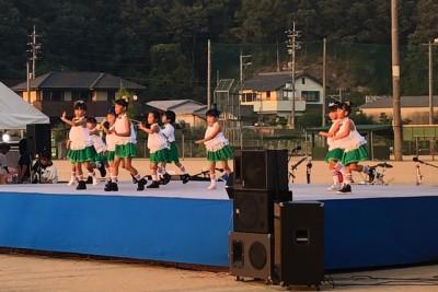 吉永町の子供たちによるキッズダンス