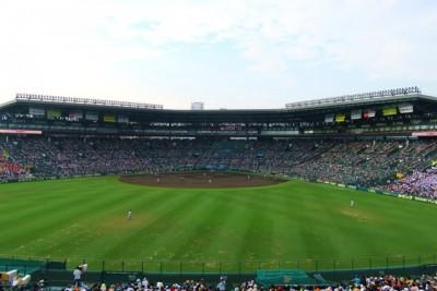野球のスタジアムの画像