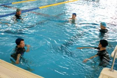 高齢者水中運動体験会