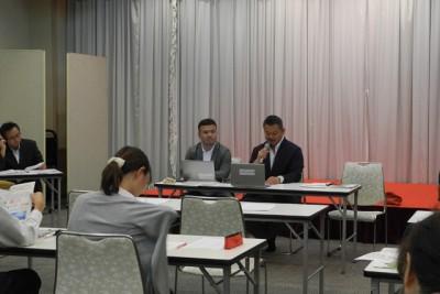 青森県南部町 説明会の様子