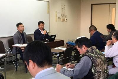 熊本県長洲町 説明会の様子