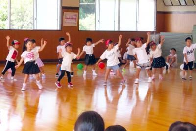 9月のイベントの様子(幼児クラス)