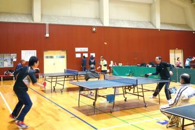 男子シングルス、同日開催の「ジャパントップ12大会」でいうと、張本智和vs水谷隼というところか・・・