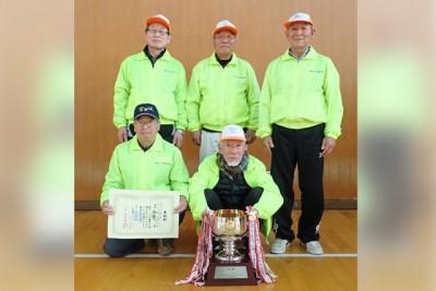 優勝した向山Bチーム