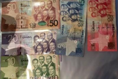 ガーナ紙幣の画像