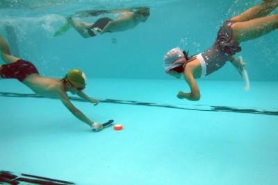 水底での熱い戦いの始まりです