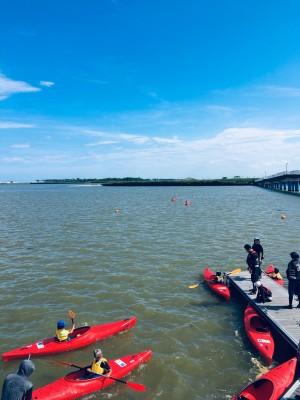 初心者も経験者も楽しくカヌーを漕ぎました