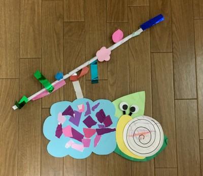 もうじき3歳になる息子の作品(※ほぼ託児所の先生が作ってくれました)