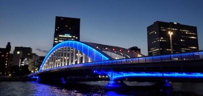 地元の名所「永代橋」