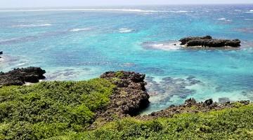 宮古島のキレイな海。海は365日いつもそこに在ります。