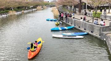 メイン活動水面の新川