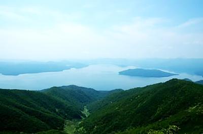藻琴山山頂から見える景色