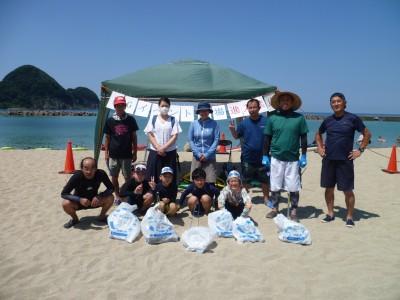 美しい竹野浜が、海ごみゼロ活動で一段ときれいになりました!