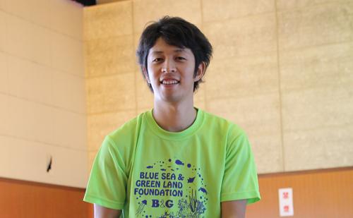 大野市B&G海洋センター指導員 堀 利考さん
