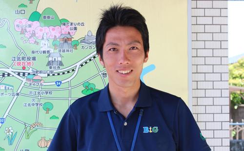 江北町B&G海洋センター指導員 柿塚 晋也さん