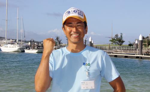 川辺町B&G海洋センター指導員 高田 茂さん