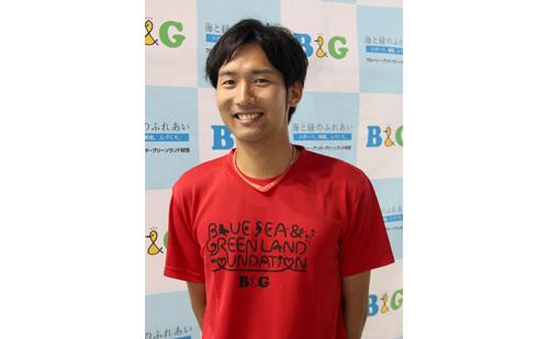北茨城市B&G海洋センター指導員 平尾 卓さん
