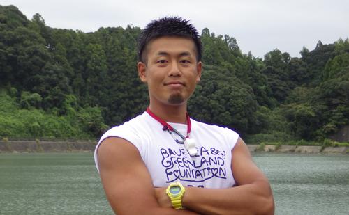 掛川市大東B&G海洋センター指導員 増田 一樹さん