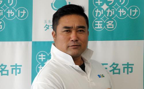 玉名市岱明B&G海洋センター指導員 西 秀隆さん