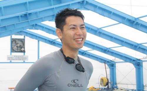 香取市小見川B&G海洋センター指導員 加藤 圭太さん