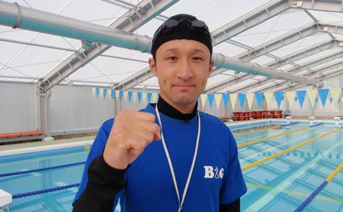中津川市加子母B&G海洋センター指導員 前野 秀友さん