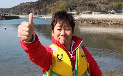 周防大島町B&G海洋センター指導員 平田 剛さん