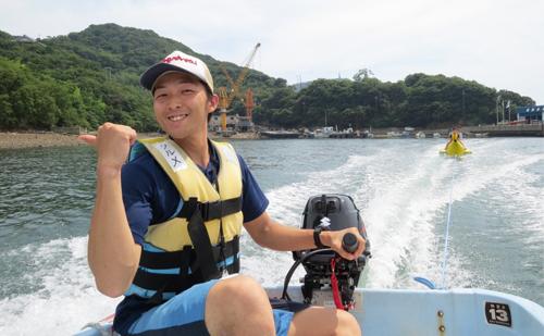 南あわじ市南淡B&G海洋センター指導員 久留米 三四郎さん