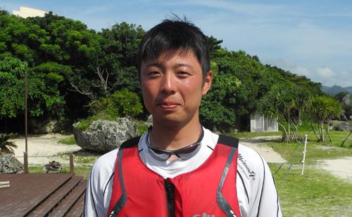 平川市尾上B&G海洋センター指導員 山口 貴一さん