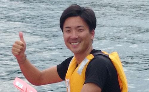 いなべ市大安B&G海洋センター指導員 水谷 吉孝さん