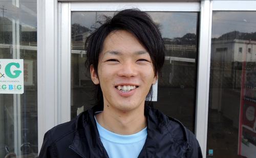 平戸市生月B&G海洋センター指導員 田中 陽久さん