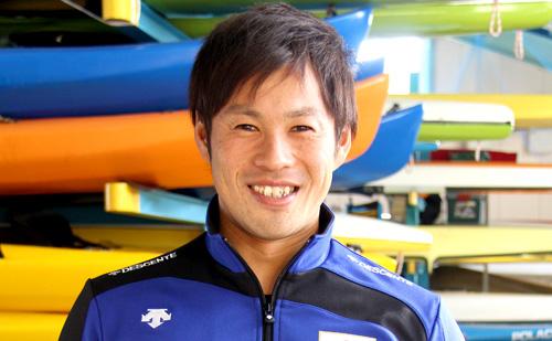 小梶 孝行選手(H29日本カヌースプリント選手権大会 カナディアンペア優勝)インタビュー