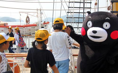 「JLC NEWS PLUS」で「がんばろう熊本!B&G帆船クルーズ」が放送!楽しそうな子供たちの表情に注目